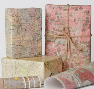 map giftwrap